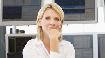 As mulheres continuam pouco representadas no setor da Finança.