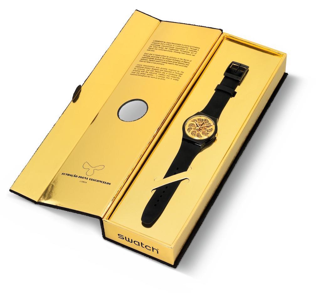 Esta é uma das 999 unidades do novo modelo Swatch