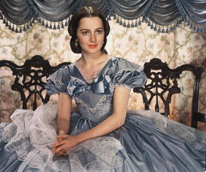 Olivia de Havilland, que interpretou Melanie em E o vento levou