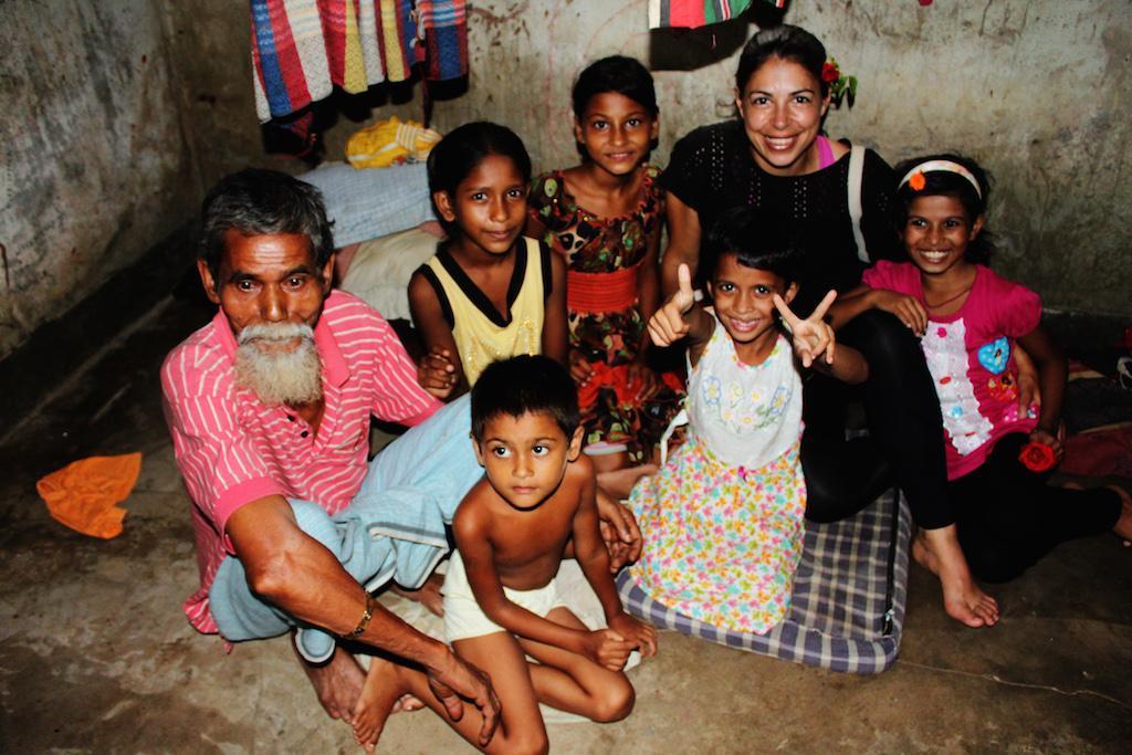 O objetivo é cuidar das crianças e também das suas famílias