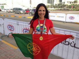 As maratonas tornaram-se parte da vida de Maria da Conceição