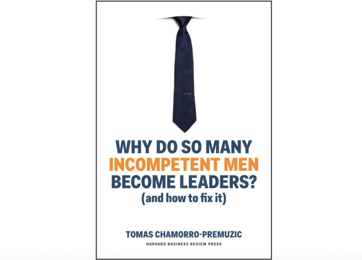 livro Why do so many incompetente men become leaders?