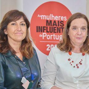 Teresa Lameiras e Isabel Jonet